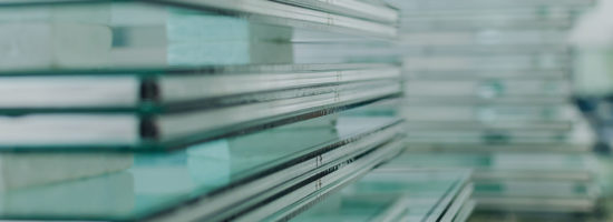 Sheets of tempered window glass for glass industry